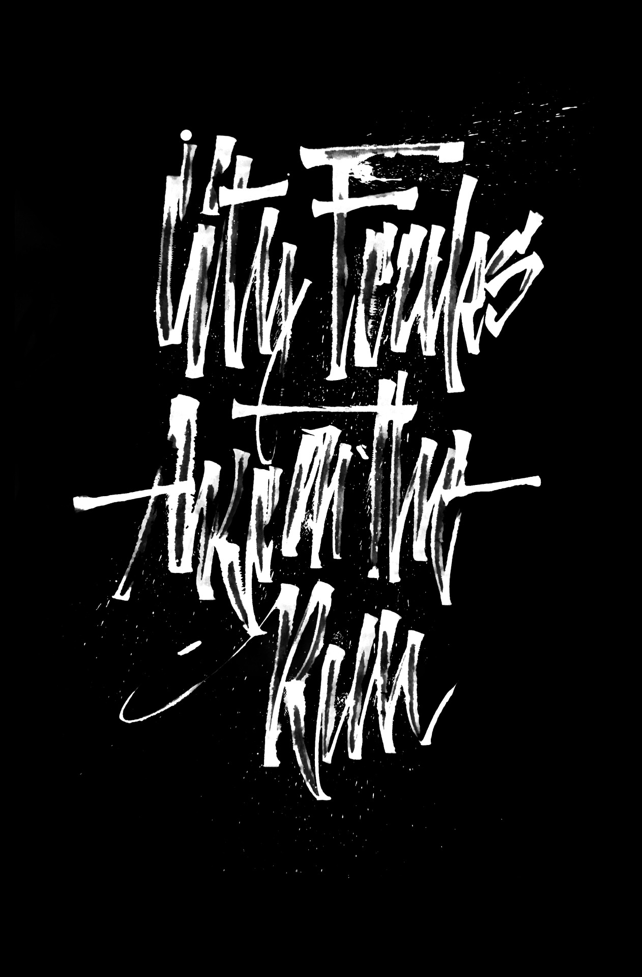 Calligraphi.ca - City Freaks are on the Run - Ruling Pen - Misha Karagezyan