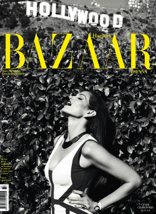 (via Harper's Bazaar Spain June 2013: Cindy Crawford By Nagi Sakai)