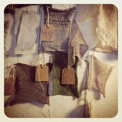 Beginning stages of spring palette for April and May shows. Lots of linen and raw silk. Nice to be back in the studio.  (at The Viking Mill)