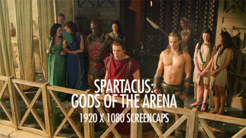 1920 x 1080 Blu-ray screencaps of Spartacus: Gods of the arena in a gallery here.