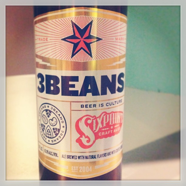 Didn't think we'd get it here in Texas…but we did! #3beans #stumptown #beer