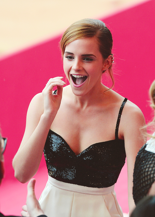 Emma Watson at The Bling Ring Premiere in Cannes (May 16, 2013)