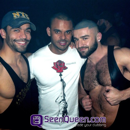 Francois Sagat and friends at Playtime…
