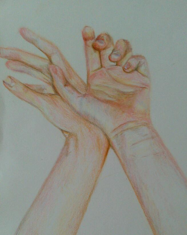 A dancer's hands