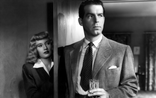 Barbara Stanwyck and Fred MacMurray (Double Indemnity, 1944)
