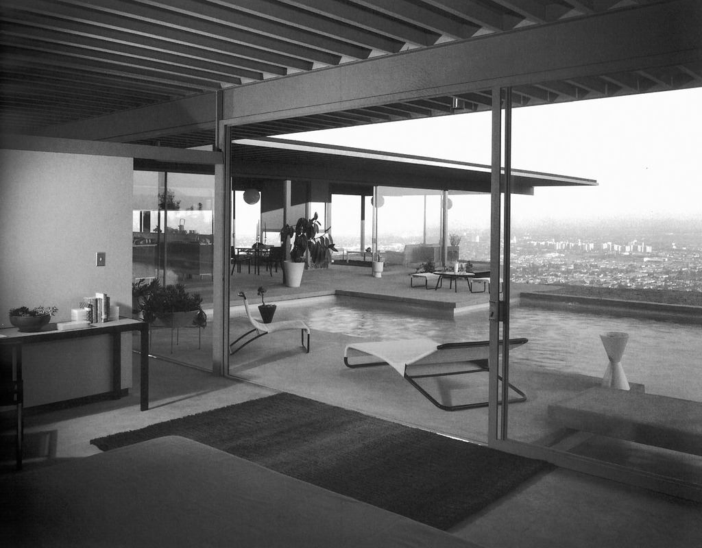 Inside case study house #22, Los Angeles