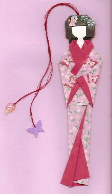 Geisha bookmark by Karnilla