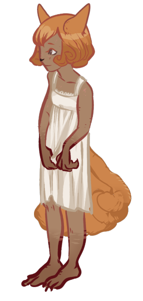 haskap:  a vulpix girl???? yes  AHH SHE'S SO CUTE