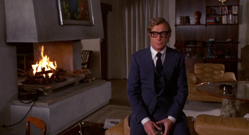 Michael Caine in X, Y and Zee (dir. Brian G. Hutton, 1972), a.k.a. Zee and Co.