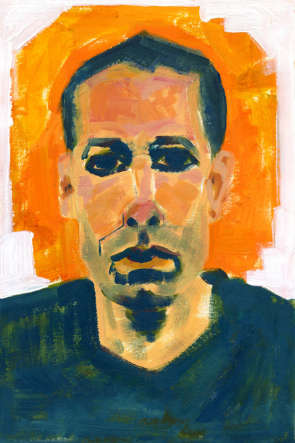 Adam Yauch 2013 acrylic paint and digital