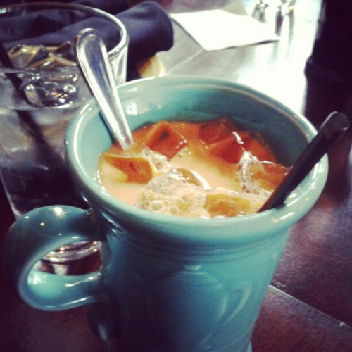 Thai tea (at Stang Of Siam)