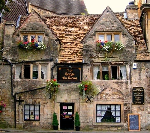keepcalmandtraveltheworld:  The Bridge Tea Rooms, Bradford-on-Avon, Wiltshire, England