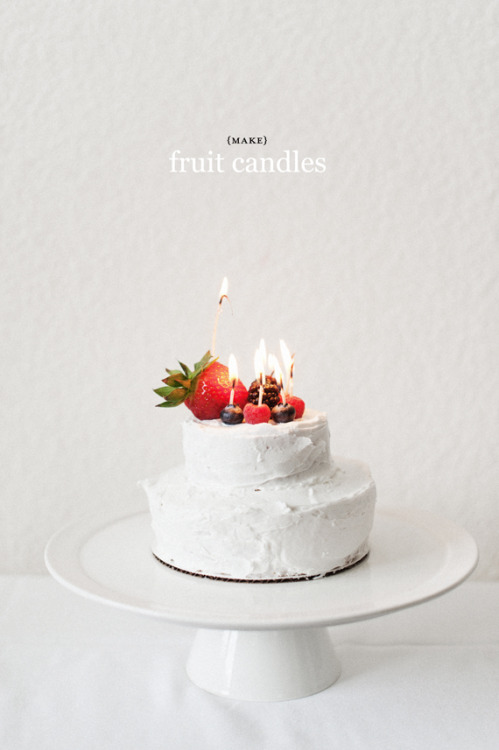 littlecraziness:  (via Fruit Candles | a subtle revelry)