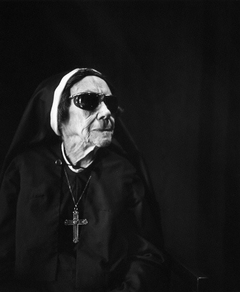 Nun for today. Imogen Cunningham - Nun at Sacred Heart Convent, 1976.