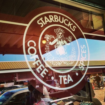 The original Starbucks, Seattle (at Starbucks)