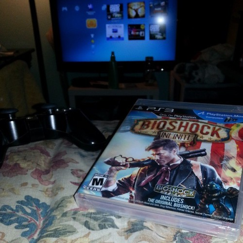 Thank you dad <3 lol #bioshockinfinite #preorder #nofilter