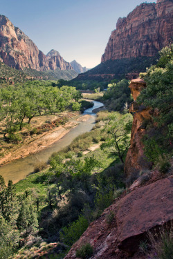 piavalesca:  ZION: between emerald pools and the grotto
