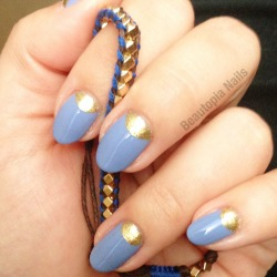 The metallic moon trend - Zoya Ziv and China Glaze Fade Into Hue