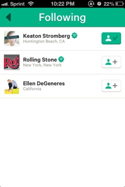 highfivekeats:  str0mwick:  Taylor swift follows 3 people — rolling stone, Ellen degeneres, and Keaton.  can we all agree we don't ship kaylor