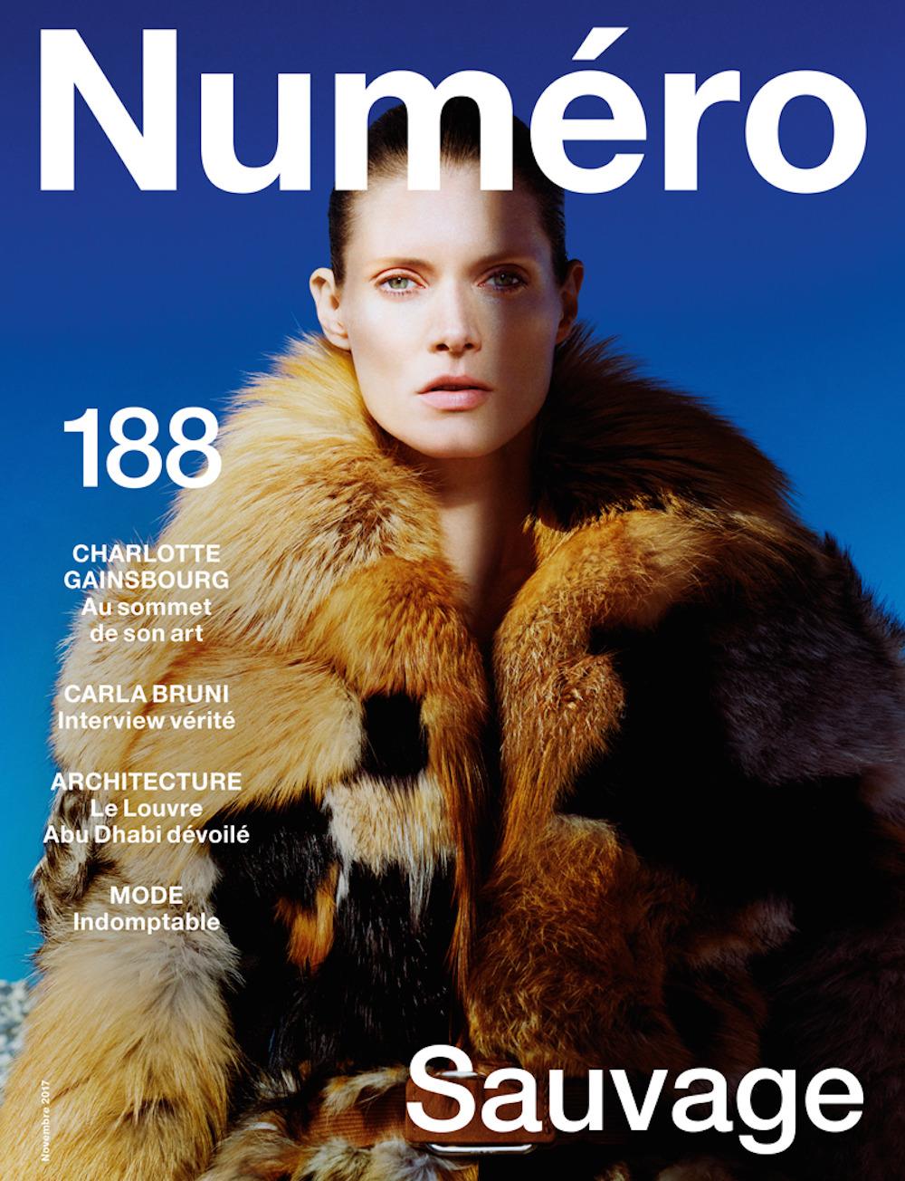 Malgosia Bela - Numero #188 November 2017 Cover