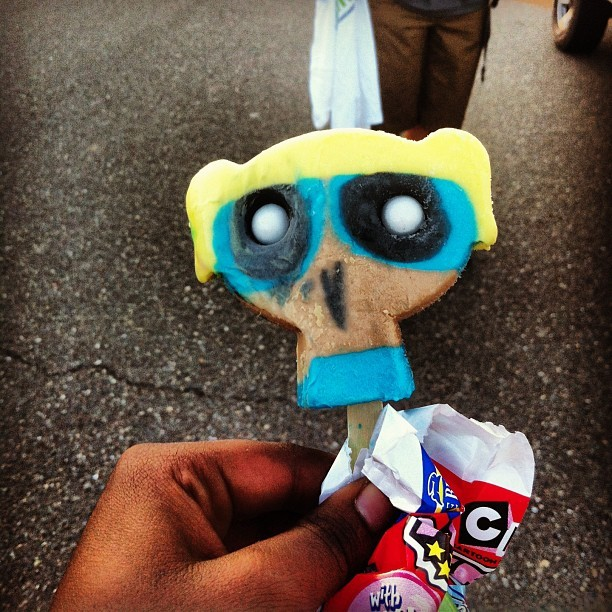 Ok.   #powerpuffgirls #cartoon #owl #donteatthis #creep #creepy #tbt #icecream #popsicle #instagood #not #instamood #summertime #summer #norcal #cali #westcoast #bestcoast