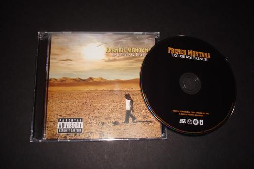 thetrillcommandments:  French Montana × Excuse My French. HARD AS ALBUM! Album good anywhere: Car, Home, Club, etc.