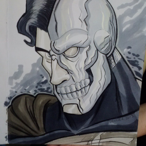 dennisculver:  Cyborg Superman commission #Bigwow