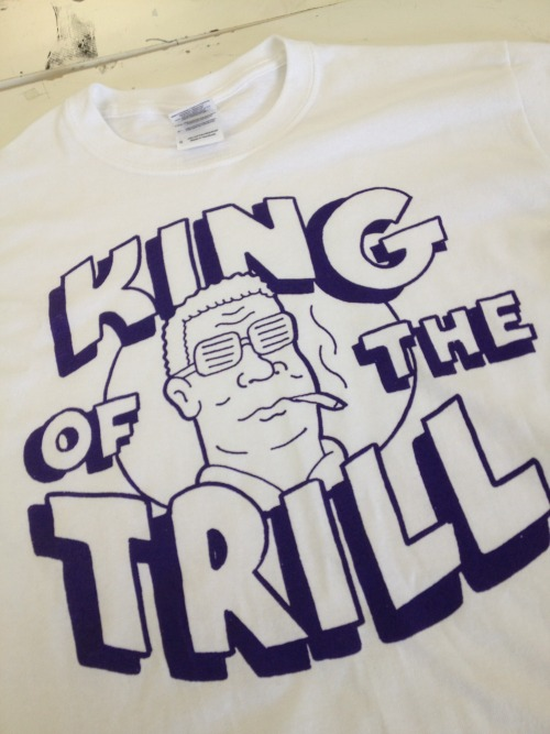 industryprintshop:  You want pro shirts? We got pro shirts! http://trillcitykings.com/