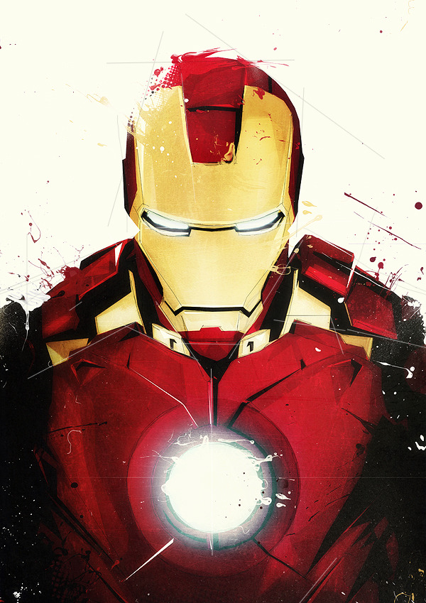 comicbookartwork:  Iron Man By Boingflo