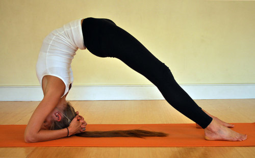 My next yoga pose of the day!