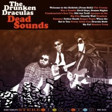 "The Drunken Draculas - Dead Sounds [Old Monster; 2013] Keen observers of our fair website may recall my hard-cool excitement overRichard Swift gone garage a long five years ago. It's a trend I've continued to tail from a host of regional acts all hammering out three chords in grungy basements and dusty backyards, all trying to recapture an era none of us lived in but have read much about. Maybe we've even bought a few dog-eared records from yard sales and pawn shops. It has led me to the Drunken Draculas (or them to me, if you will). It's a twisty, half-played mess of vibrant bass, oaken vocals and silly monster references (""The Tranny was a Zombie,"" ""Old Ass Troll,"" ""Dracula Stole My Gal""). All two minute blisters that begged to be popped so the 60s ooze all over your boil covered body. If you found this during a bin (dumpster?) dive, you'd be holding a classic that never existed. As it stands, 2013 is the year of half-assed garage rock and you know you've been waiting for it. No more outer space zones and intricate geometric trigonometry bullshit. Just guys and gals in small confines beating and strumming and strumming and smoking and smoking and blistering. It's been prophesied in these very pages. The little critters of nature, they don't know that they're ugly…"