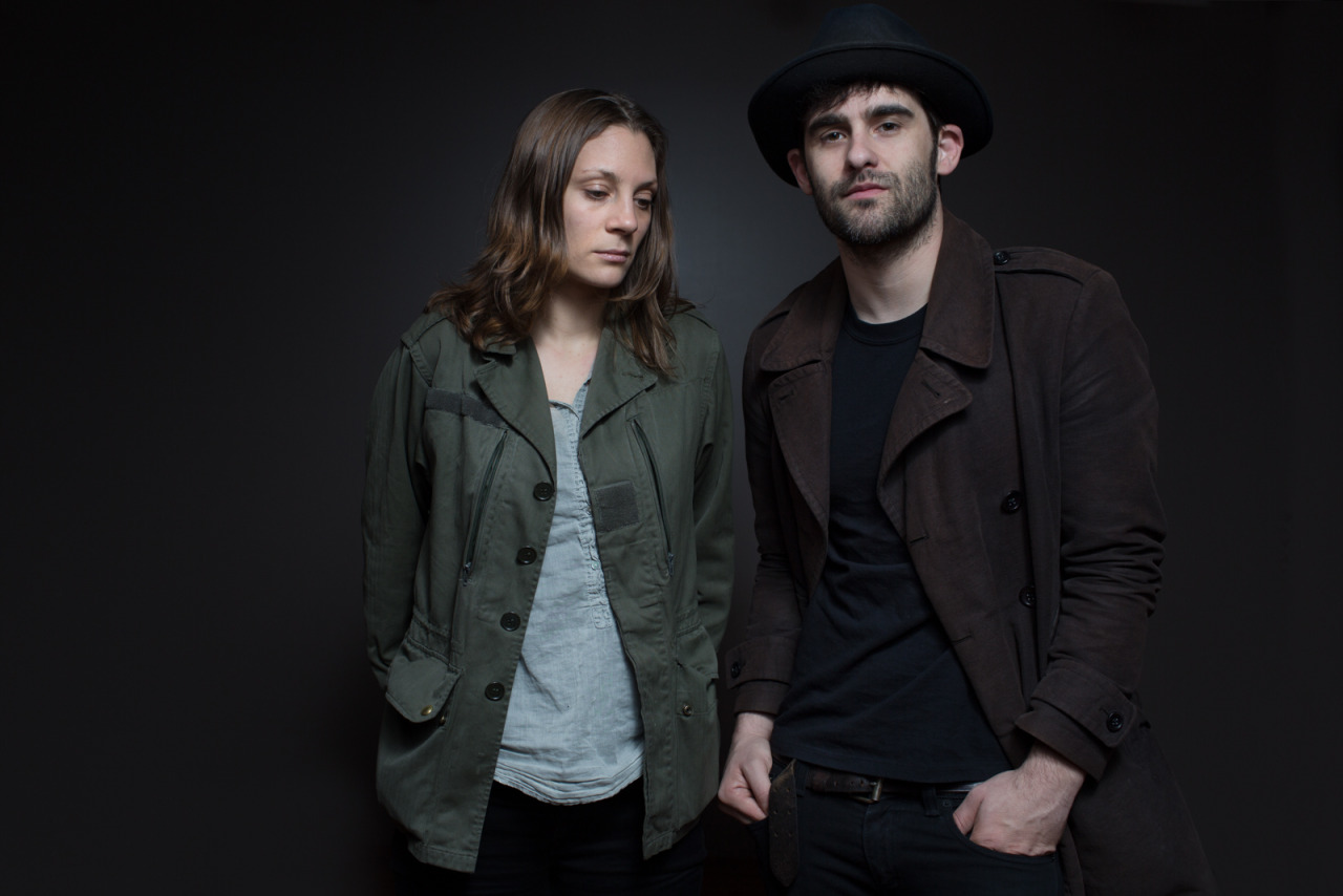 Black Rebel Motorcycle Club's Leah Shapiro and Robert Levon Been