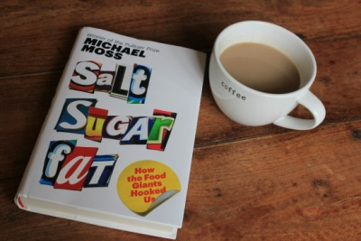 Want to start reading up on the food you eat?  How about Salt, Sugar, Fat by Muchael Moss?  Here's our book report!