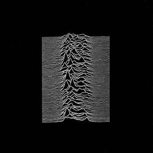 paramoderne:  Unknown Pleasures, 1979 Peter Saville