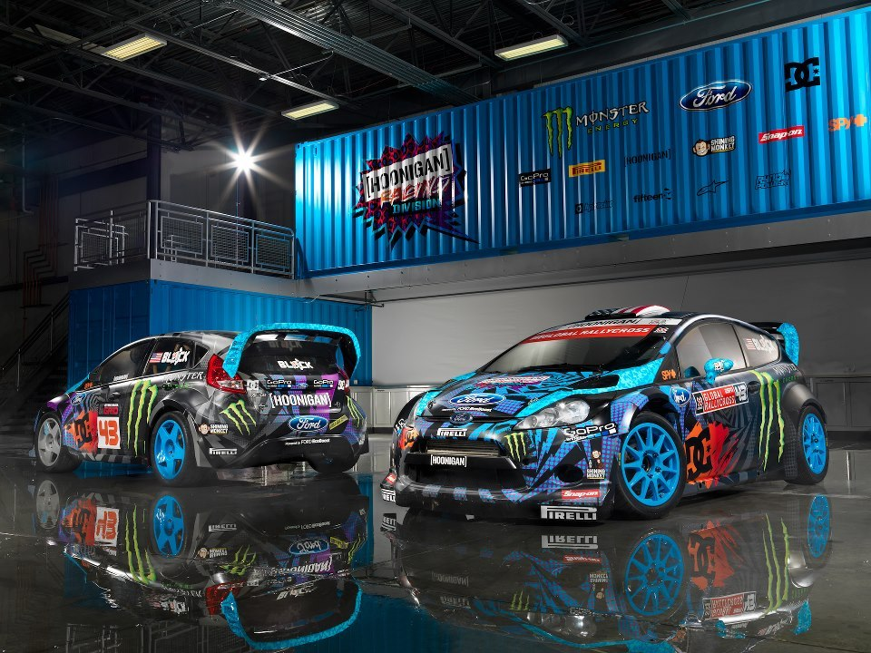 autocar:  Ken Block's 2013 Fiesta. Hoonigan is back, bitches!
