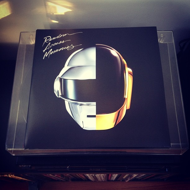 #nowplaying #daftpunk #randomaccessmemories #vinyl #lp @swaytek