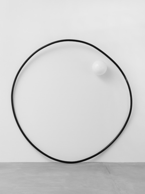 "carre-blanc:  Mark Handforth,  ""Strange Ring (2013)"". Exhibition ""Two Old Bananas"" at Galerie Eva Presenhuber, Zurich."