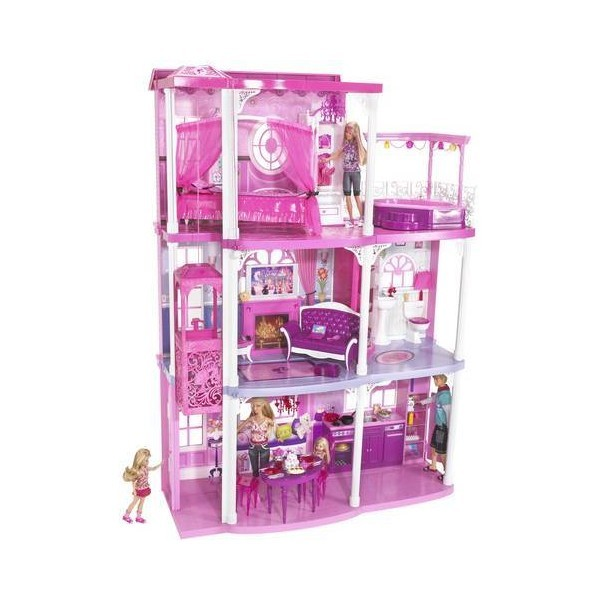 Barbie Pink World Dream Townhouse   (clipped to polyvore.com)