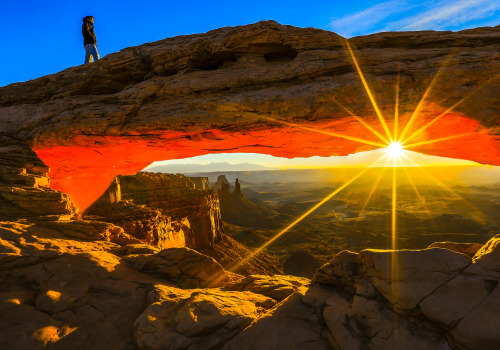 Good morning from Canyonlands National Park.Photo: Manish Mamtani