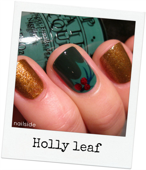 Tutorial: Holly leaf