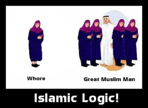 proud-atheist:  Islamic Logic [FIXED]http://proud-atheist.tumblr.com  Seriously, that is so silly