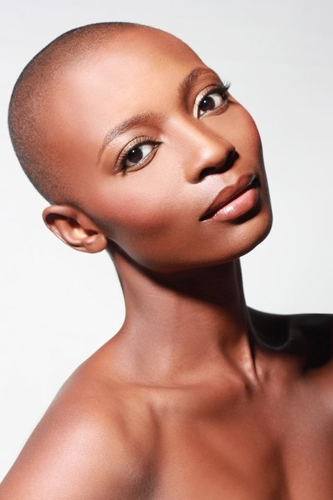 bald-is-bold-and-beautiful:  Amina: Life-Long Learner at I Love Me University