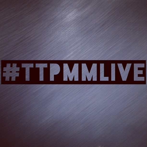 8pm Tuesday May 14 - Santa Rosa time - #tTpMMLive on Twitter. Win stuff. Chat. Coffee.  (at virtual, baby… )
