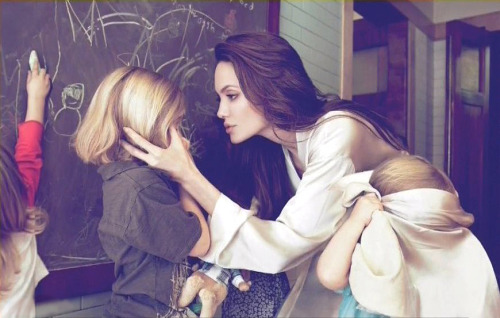"elenilote:  suicideblonde:  Angelina Jolie on why she had a double mastectomy, and how it can save lives My mother fought cancer for almost a decade and died at 56. She held out long enough to meet the first of her grandchildren and to hold them in her arms. But my other children will never have the chance to know her and experience how loving and gracious she was. We often speak of ""Mommy's mommy,"" and I find myself trying to explain the illness that took her away from us. They have asked if the same could happen to me. I have always told them not to worry, but the truth is I carry a ""faulty"" gene, BRCA1, which sharply increases my risk of developing breast cancer and ovarian cancer. My doctors estimated that I had an 87 percent risk of breast cancer and a 50 percent risk of ovarian cancer, although the risk is different in the case of each woman. Only a fraction of breast cancers result from an inherited gene mutation. Those with a defect in BRCA1 have a 65 percent risk of getting it, on average. Once I knew that this was my reality, I decided to be proactive and to minimize the risk as much I could. I made a decision to have a preventive double mastectomy. I started with the breasts, as my risk of breast cancer is higher than my risk of ovarian cancer, and the surgery is more complex. On April 27, I finished the three months of medical procedures that the mastectomies involved. During that time I have been able to keep this private and to carry on with my work. But I am writing about it now because I hope that other women can benefit from my experience. Cancer is still a word that strikes fear into people's hearts, producing a deep sense of powerlessness. But today it is possible to find out through a blood test whether you are highly susceptible to breast and ovarian cancer, and then take action. My own process began on Feb. 2 with a procedure known as a ""nipple delay,"" which rules out disease in the breast ducts behind the nipple and draws extra blood flow to the area. This causes some pain and a lot of bruising, but it increases the chance of saving the nipple. Two weeks later I had the major surgery, where the breast tissue is removed and temporary fillers are put in place. The operation can take eight hours. You wake up with drain tubes and expanders in your breasts. It does feel like a scene out of a science-fiction film. But days after surgery you can be back to a normal life. Nine weeks later, the final surgery is completed with the reconstruction of the breasts with an implant. There have been many advances in this procedure in the last few years, and the results can be beautiful. I wanted to write this to tell other women that the decision to have a mastectomy was not easy. But it is one I am very happy that I made. My chances of developing breast cancer have dropped from 87 percent to under 5 percent. I can tell my children that they don't need to fear they will lose me to breast cancer. It is reassuring that they see nothing that makes them uncomfortable. They can see my small scars and that's it. Everything else is just Mommy, the same as she always was. And they know that I love them and will do anything to be with them as long as I can. On a personal note, I do not feel any less of a woman. I feel empowered that I made a strong choice that in no way diminishes my femininity. I am fortunate to have a partner, Brad Pitt, who is so loving and supportive. So to anyone who has a wife or girlfriend going through this, know that you are a very important part of the transition. Brad was at the Pink Lotus Breast Center, where I was treated, for every minute of the surgeries. We managed to find moments to laugh together. We knew this was the right thing to do for our family and that it would bring us closer. And it has. For any woman reading this, I hope it helps you to know you have options. I want to encourage every woman, especially if you have a family history of breast or ovarian cancer, to seek out the information and medical experts who can help you through this aspect of your life, and to make your own informed choices. I acknowledge that there are many wonderful holistic doctors working on alternatives to surgery. My own regimen will be posted in due course on the Web site of the Pink Lotus Breast Center. I hope that this will be helpful to other women. Breast cancer alone kills some 458,000 people each year, according to the World Health Organization, mainly in low- and middle-income countries. It has got to be a priority to ensure that more women can access gene testing and lifesaving preventive treatment, whatever their means and background, wherever they live. The cost of testing for BRCA1 and BRCA2, at more than $3,000 in the United States, remains an obstacle for many women. I choose not to keep my story private because there are many women who do not know that they might be living under the shadow of cancer. It is my hope that they, too, will be able to get gene tested, and that if they have a high risk they, too, will know that they have strong options. Life comes with many challenges. The ones that should not scare us are the ones we can take on and take control of.  I admire that she chooses to speak up on a topic that is deeply personal so that other women may take strength and encouragement from it."