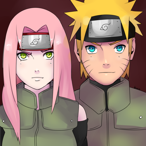 Couple of Ninjas by *Kozakura-chan