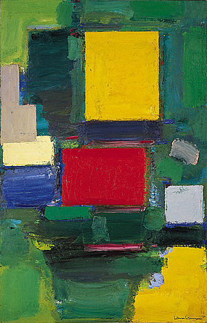 Hans Hofmann, 1959-60, The Gate