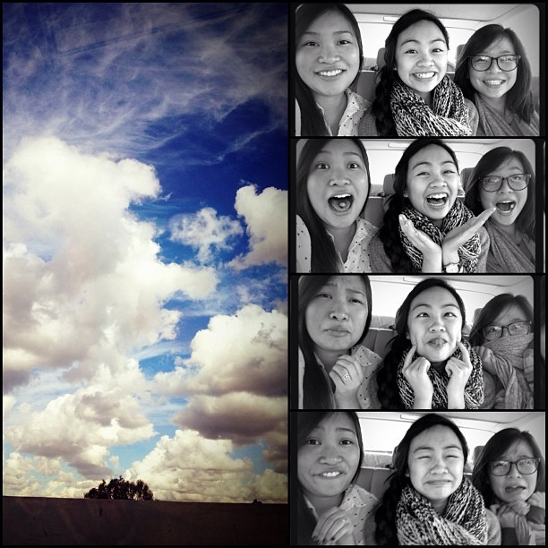 Peace out SoCal 👋✊. @alygat0rz🐽@claudzpham,#winterbreak2012