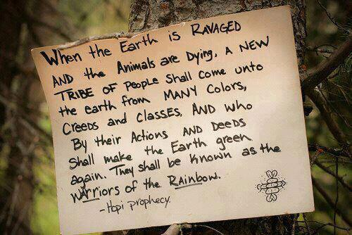 """Warriors of the rainbow"""