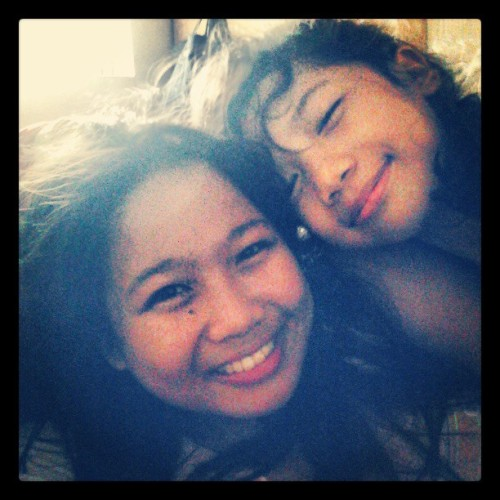 Me and baby girl :) #lablab #sweet #memories #family #igers (at Cereza Residence)