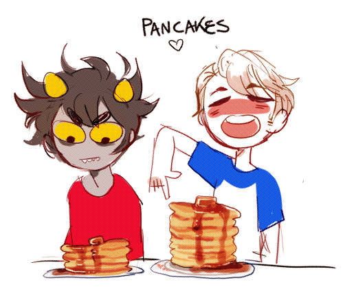 onlymeemy:   I love Pancakes to Dave!